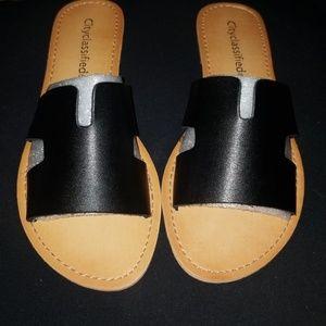 City Classified Slide Sandals